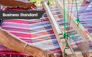 Business Standard: Microland Works With the Rotary Club of Parur to Rehabilitate Kerala's Handloom Weaver Community