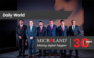 Daily World: Microland Press Conference