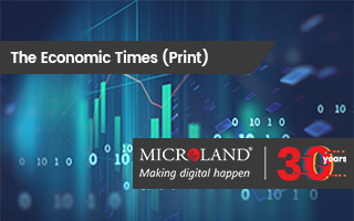 The Economic Times: Microland banks on digital tech for next phase of growth