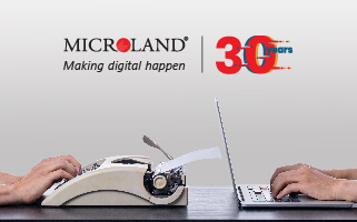 On the occasion of its 30th Anniversary, Microland unveiled a visionary plan for enabling technology to do more and intrude less