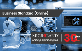 Business Standard: Microland repositions service offerings with bigger Internet of Things play
