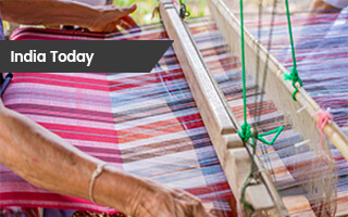 India Today: Microland Works With the Rotary Club of Parur to Rehabilitate Kerala's Handloom Weaver Community