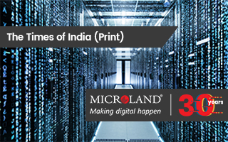 The Times of India: Microland re-pivots to focus on IT infra