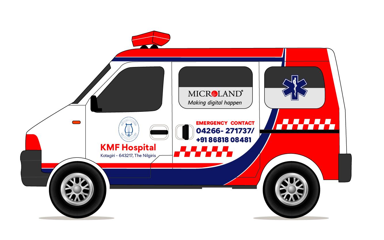 Microland donates state-of-the-art cardio-neuro ambulance to Kotagiri Medical Fellowship Hospital: Enabling 24/7 medical support in the Nilgiris