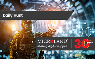 Daily Hunt: On Microland's 30th anniversary, Kar has a visionary plan for technology to do more and intrude less