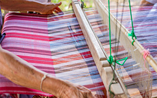 Microland works with the Rotary Club of Parur to rehabilitate Kerala's handloom weaver community