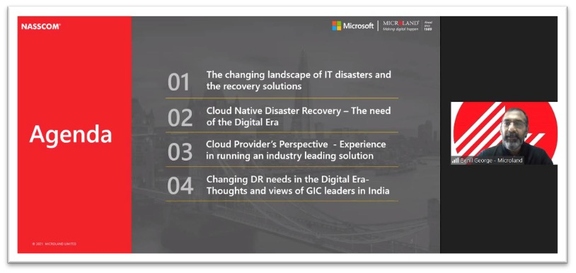 Virtual Event – Cloud Native Disaster Recovery